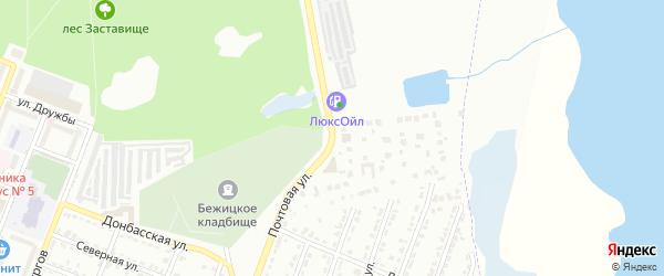 Почтовая улица на карте Брянска с номерами домов