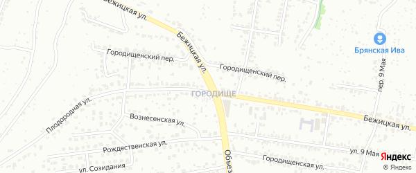 Бежицкая улица на карте поселка Путевки с номерами домов