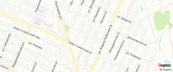 Улица Баумана на карте Брянска с номерами домов