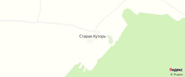 Карта поселка Старой Хуторя в Брянской области с улицами и номерами домов