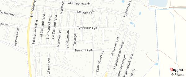Улица Текстильщиков на карте Брянска с номерами домов