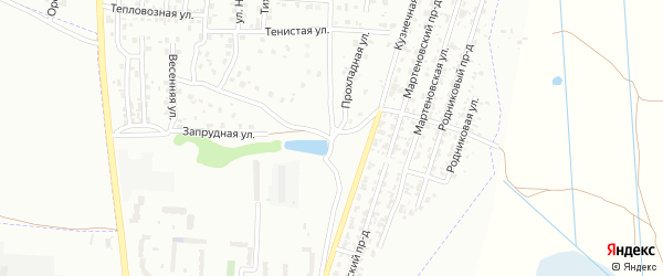 Улица Желябова на карте Брянска с номерами домов