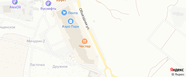 Объездная улица на карте Брянска с номерами домов