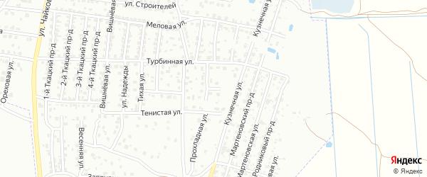 Прохладный переулок на карте Брянска с номерами домов