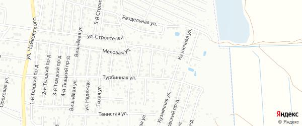 5-й Меловой проезд на карте Брянска с номерами домов