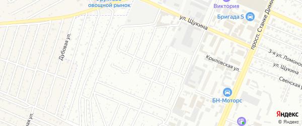 Территория со Природа на карте Брянска с номерами домов