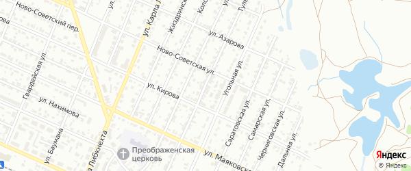 Тульская улица на карте Брянска с номерами домов