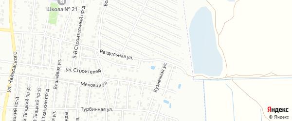 Улица Содружества на карте Брянска с номерами домов