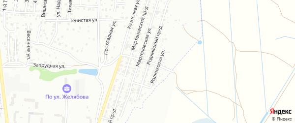 Улица Согласия на карте Брянска с номерами домов