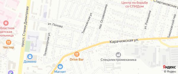Выгоничская улица на карте Брянска с номерами домов