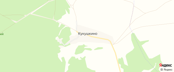 Карта села Кукушкино в Брянской области с улицами и номерами домов