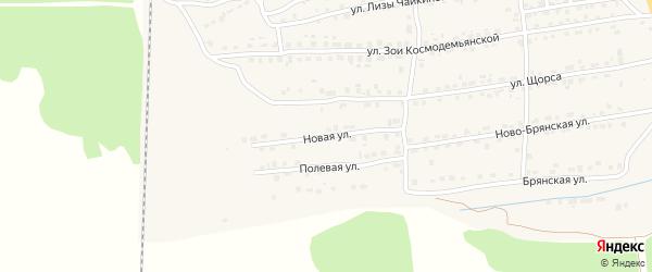Новая улица на карте Дятьково с номерами домов