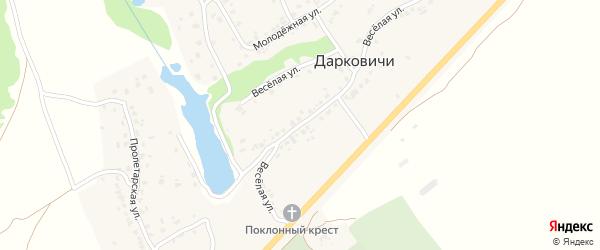 Территория ГСК Новые Дарковичи на карте поселка Новые Дарковичи с номерами домов