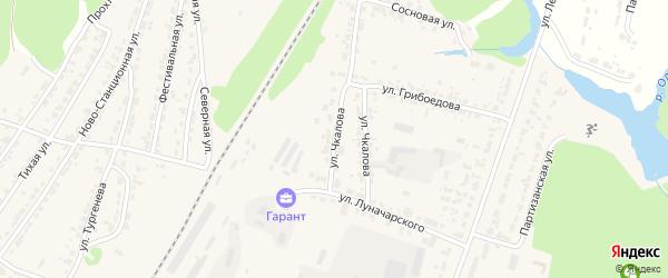 Улица Чкалова на карте Дятьково с номерами домов
