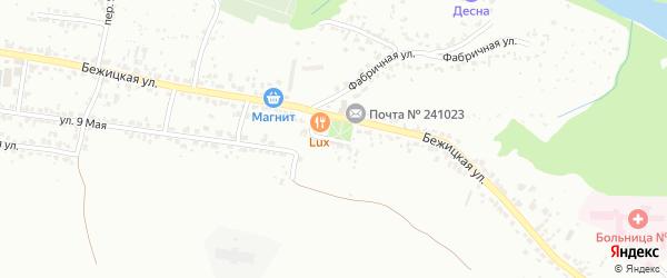 Улица 1-й Пятилетки на карте Брянска с номерами домов