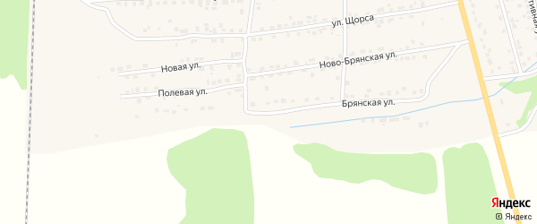Брянская улица на карте Дятьково с номерами домов