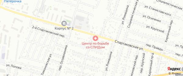 4-й Карачижский переулок на карте Брянска с номерами домов