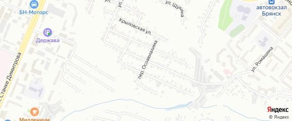 2-я Толмачевская улица на карте Брянска с номерами домов