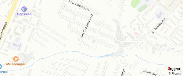 3-я Толмачевская улица на карте Брянска с номерами домов