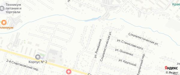3-й Карачижский переулок на карте Брянска с номерами домов