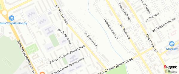 Улица Вильямса на карте Брянска с номерами домов