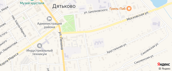 ГСК 1 на карте гаражно-строительного кооператива ГБ в районе дома 2 по ул Д.Ульянова с номерами домов
