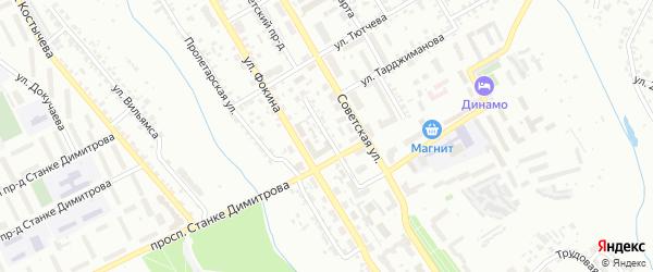2-й Трубчевский проезд на карте Брянска с номерами домов
