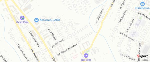 3-я Ново-Топальская улица на карте Брянска с номерами домов