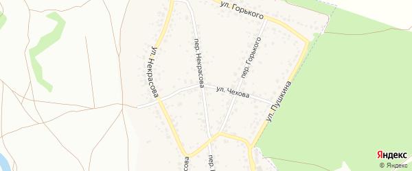 Улица Чехова на карте поселка Радицы-Крыловки с номерами домов