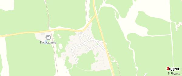 Комсомольская улица на карте поселка Свеня с номерами домов