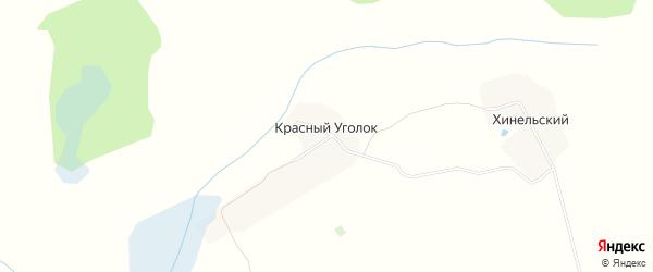 Карта поселка Красного Уголка в Брянской области с улицами и номерами домов
