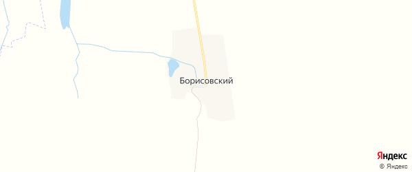 Карта Борисовского поселка в Брянской области с улицами и номерами домов