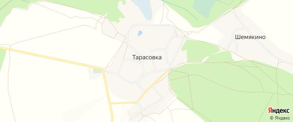 Карта деревни Тарасовки в Брянской области с улицами и номерами домов