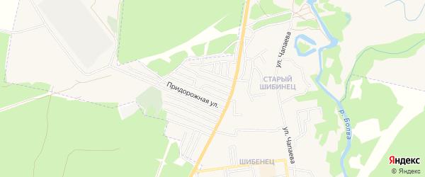 Карта территории сдт Восхода в Брянской области с улицами и номерами домов