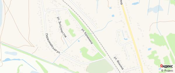 Улица Калинина на карте поселка Радицы-Крыловки с номерами домов