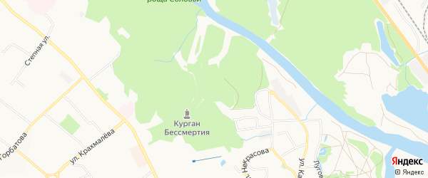 Территория ГО Водник-4 на карте Брянска с номерами домов