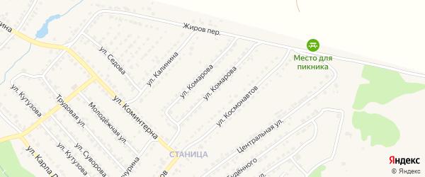 Улица Комарова на карте Дятьково с номерами домов