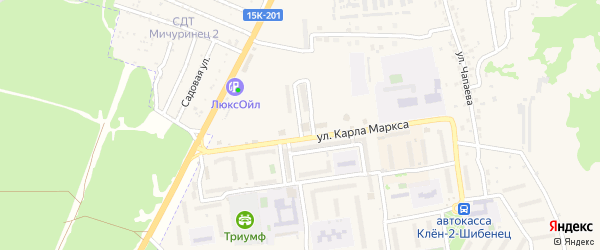 Северная улица на карте Фокино с номерами домов
