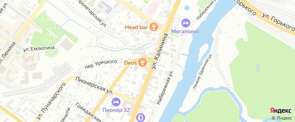 Километр 365 км а/д Украина на карте Брянска с номерами домов