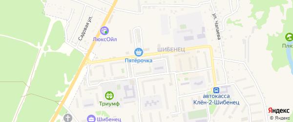 Улица Александра Зверева на карте Фокино с номерами домов