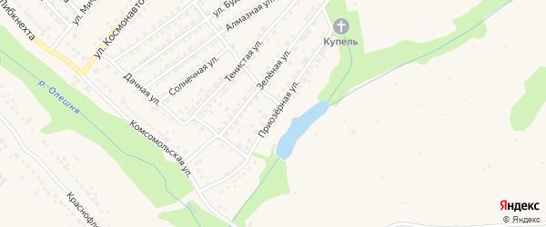 Приозерная улица на карте Дятьково с номерами домов