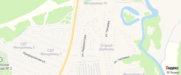 Улица Ломоносова на карте Фокино с номерами домов