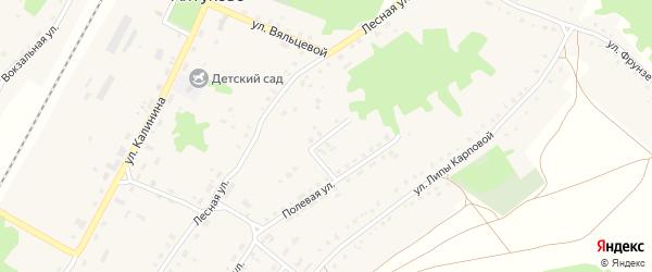 Молодежная улица на карте поселка Алтухово с номерами домов