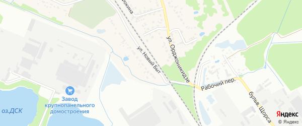 Улица Новый Быт на карте поселка Радицы-Крыловки с номерами домов