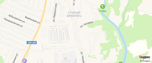 Улица Чапаева на карте Фокино с номерами домов