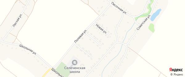 Улица Механизаторов на карте села Селечни с номерами домов