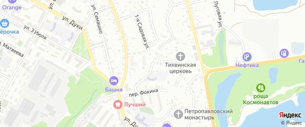 Улица Верхняя Лубянка на карте Брянска с номерами домов