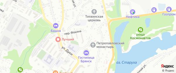 Улица Кулькова на карте Брянска с номерами домов