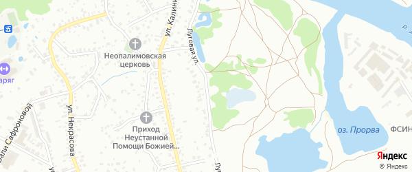 Со Земляника ул Луговая территория на карте Брянска с номерами домов