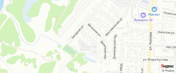 Алтайская улица на карте Брянска с номерами домов